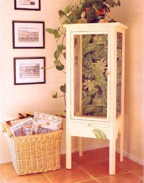 bird cage furniture wood working plans   bird