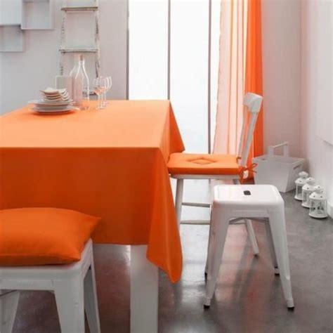 si e de repassage anti fatigue nappe unie orange mandarine 2m x 1m40 anti tache et sans