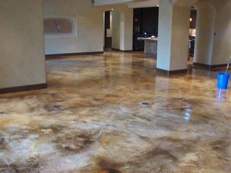 stamp concrate floor glaze  stain floor exterior