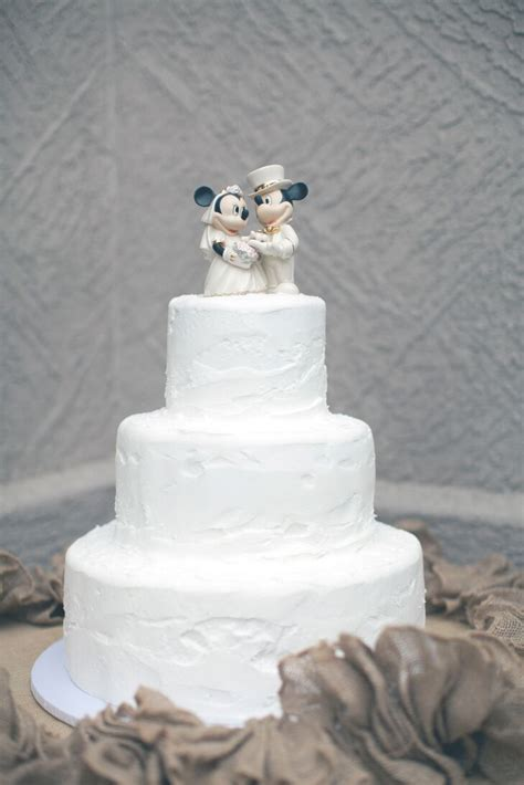 mickey  minnie mouse wedding cake topper