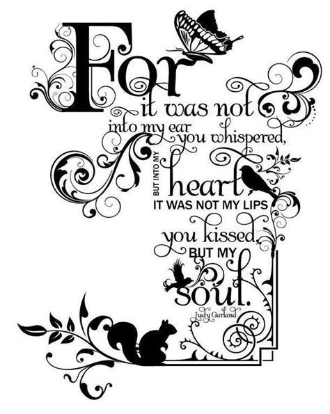 heart&soul   Judy garland quotes, Words, Lettering