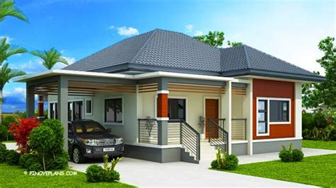 beautiful house designs  layout  estimated cost modern bungalow house small
