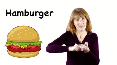 Asl Sign For Hamburger