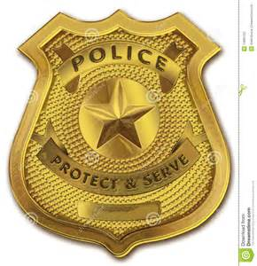 HD wallpapers blank police badge outline
