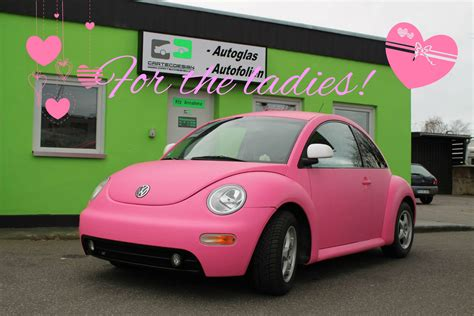 beetle volkswagen pink pink vw beetle a joyful cliche autoevolution
