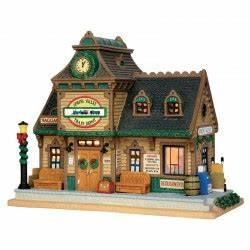 Maison De Noel Miniature : maison spring valley depot lemax ~ Nature-et-papiers.com Idées de Décoration