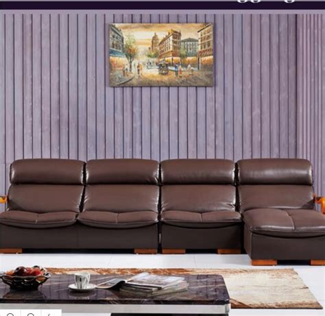 china quality supplier big lots furniture leather corner