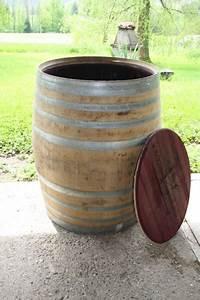 Tonne Aus Holz : regentonne regenfass 500 liter vom holzfass ~ Watch28wear.com Haus und Dekorationen