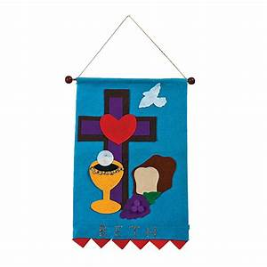 Holy Communion Banner Craft Kit - Oriental Trading