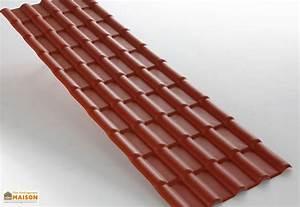 Tuile Pour Toiture : toiture plaque pvc mon am nagement maison ~ Premium-room.com Idées de Décoration