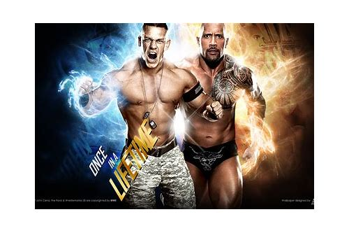 jone cena vs the rock match download