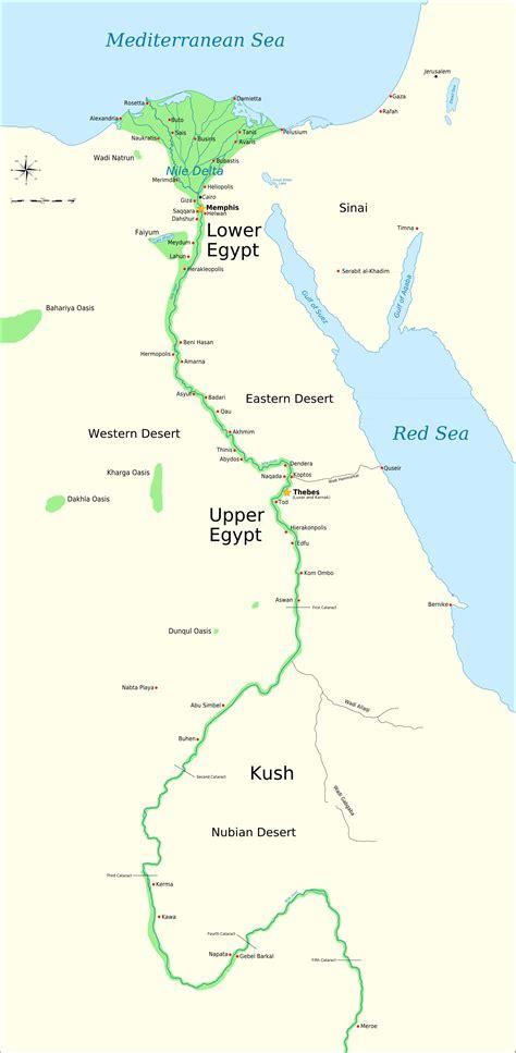 map  egypt memphis