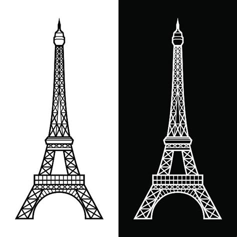 eiffel tower illustrations royalty  vector graphics