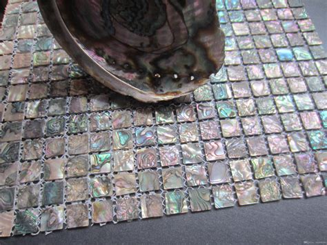 accent tiles for bathroom cheap abalone shell green mosaic tile kitchen