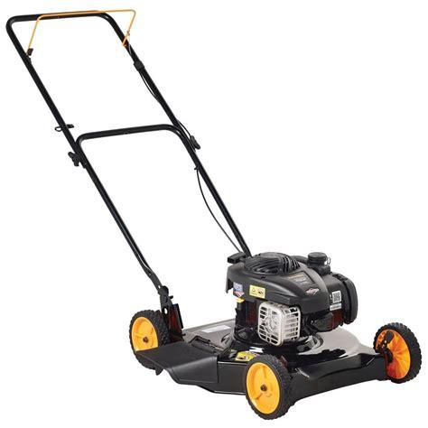 depot mowers poulan pro 20 in push walk gas mower 961120130 Home