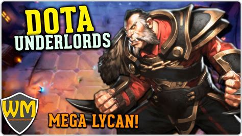 dota underlords lycan 3 e gyro 2 me carreguem gameplay pt br youtube