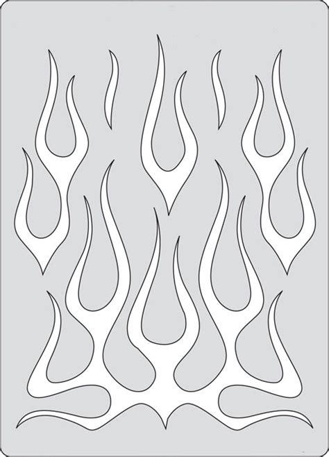 sj aerografias plantillas llamas