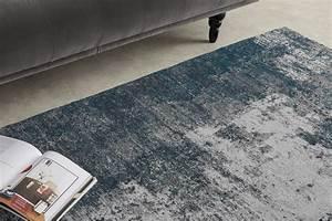 Genna Rug  Large 160x230cm  Petrol Blue