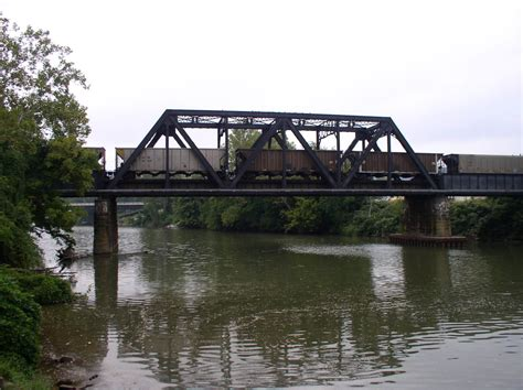 bridgehuntercom csx coal river bridge