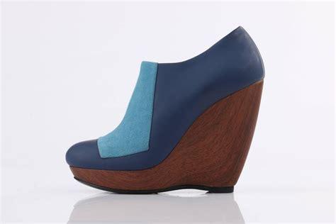 light blue suede heels balenciaga light on blue suede colorblock wooden