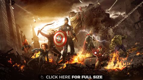 New Avengers Age Of Ultron Wallpaper