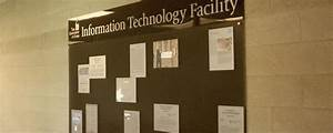 A welcome addition to the Information Technology Facility ...