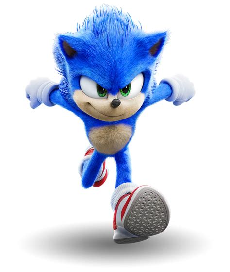 Sonic the Hedgehog (Movie) (1) - PNG by Captain-Kingsman16 ...