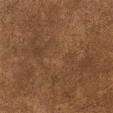 Armstrong 12 In X 12 In Peel And Stick Brown Stone Vinyl