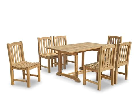 teak wood table and chairs 6 seater garden table and chairs teak patio outdoor