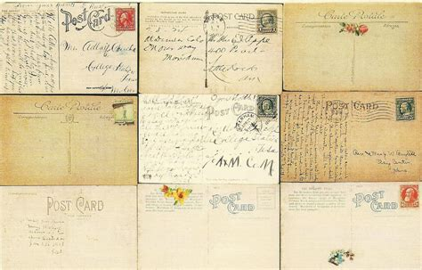 free postcard two free vintage postcards large background images the graffical muse