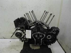 08 Yamaha Road Star Warrior Xv1700 Engine Cases Crankcase