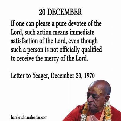 December Quotes Famous Month Srila Prabhupada Quotesgram