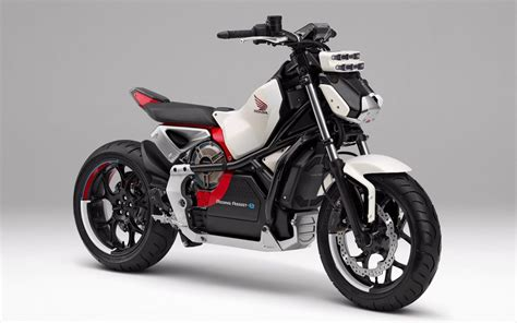 Electric Motorbike by Honda Introduces Assist E Self Balancing Electric