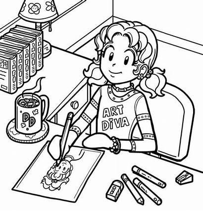 Drawing Dork Diaries Nikki Draw Dorkdiaries Coloring