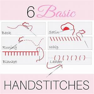 Hand Embroidery Stitches: 6 EASY hand stitches |MCT