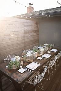 lovely modern metal patio table .: Window Shopping Wednesday- Modern Metal Chairs