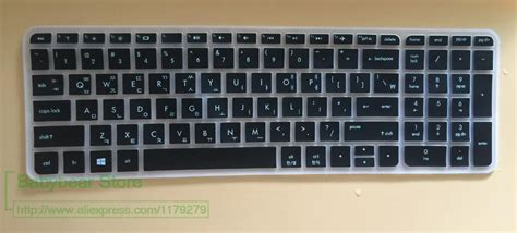 Korean 15.6 17 Inch Silicone Laptop Keyboard Cover