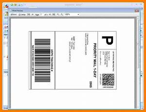 5  Blank Shipping Label Template