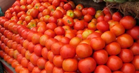 tomato prices  delhi soar  rs   kg traders