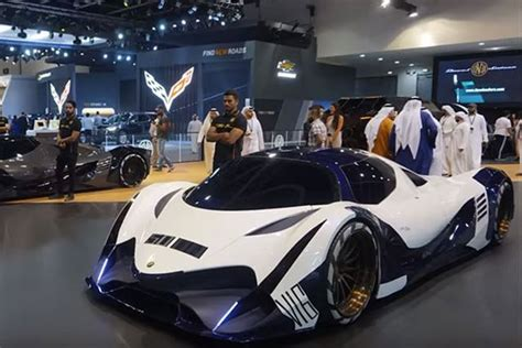 Dubai 5000 Hp Car by Devel Sixteen 5 000 Hp Hypercar Concept To Dubai Motor Show