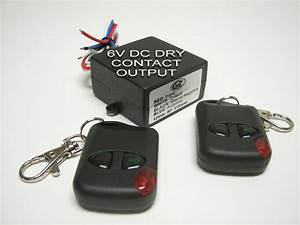 Msd Inc 6v Dc Dry Contact Output Wireless Remote Control