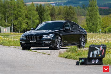 Bmw 7 Series by Bmw 7 Series Upgraded With Some Gorgeous Vossen Wheels