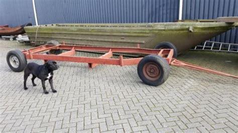 Boottrailer Kopen Gebruikt by Opknappers Boottrailer En Botenbok Boottrailers