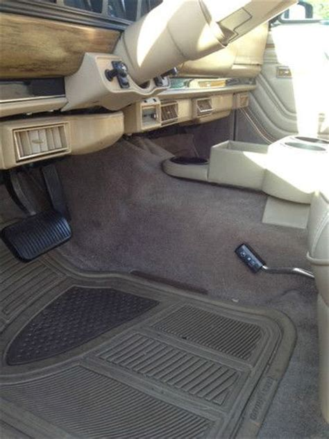 1989 jeep wagoneer interior purchase used 1989 jeep grand wagoneer 5 9l navy exterior