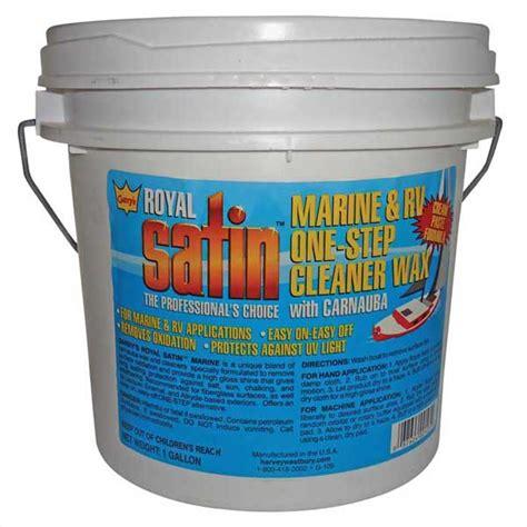 Gary S Boat Wax by Harvey Westbury Gary S Royal Satin Marine Rv One Step