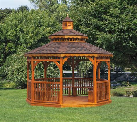gazebo wooden purchasing wood gazebo kits advantages homesfeed
