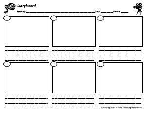 storyboard   boxes freeology