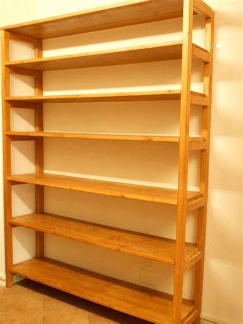 costruire mensole in legno creare scaffali fai da te