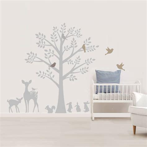 vintage tree wall stickers  littleprints
