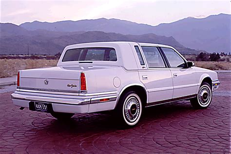 how does cars work 1992 chrysler imperial parking system 1990 93 chrysler imperial new yorker fifth avenue consumer guide auto